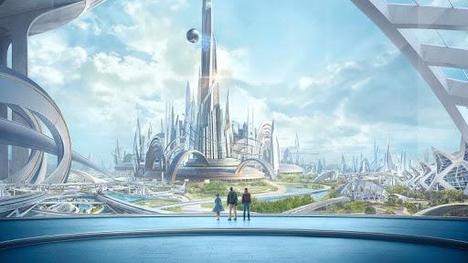 города будущего это сочетание небоскребов, высокой технологии, скоростного транспорта и природы