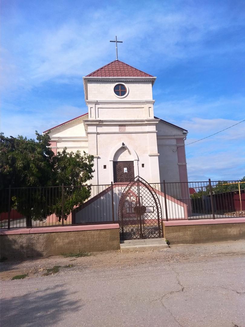 католический костел кроненталь