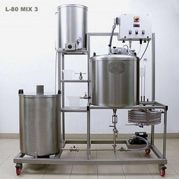 В домашних условиях обработать 500 литров молока за пару дней можно на таком оборудовании