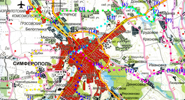 Гагаринский парк хорош для ежедневных тренировок любителей активного образа жизни и сбора для загородных путешествий пешком и на велосипеде