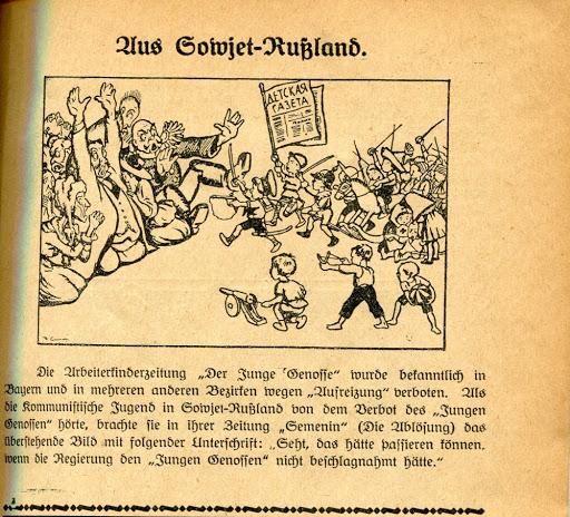 В рабочем движении Германии и СССР 1920-х детям внушали ненависть к священникам и богачам