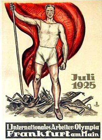 В июле 1925 года в Германии проведена успешно первая олимпиада среди молодых рабочих. Культ здорового тела среди них обязательно песни народные и новые.