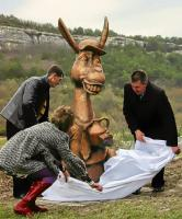 памятник Ослику