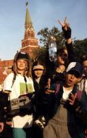 съемочная группа студии Скворечник на 850-летии Москвы