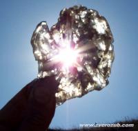 кристалл гипса на мысе Казантип
