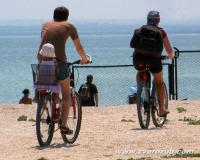 велосипедный маршрут вдоль Казантипского залива