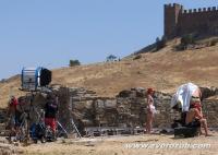 Судакская крепость, съемки фильма Фотография его девушки