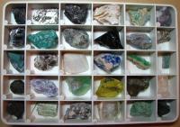так выглядит геологическая коллекция у профессионалов - http://geocollect.ru/