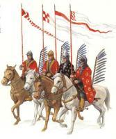 польские крылатые гусары в битве при Киркхольме