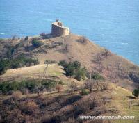 Чобан-куле к между Морским (Капсихор) и Приветным (Ускут)