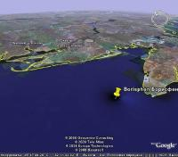 затопленный античный город Борисфен, который посетил Геродот, находится на подводной возвышенности (Штормовое месторождение газового конденсата), на подводном продолжении речки Караджа