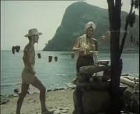 """вид из Тихой бухты Нового Света на гору Хоба-кая, фильм """"3+2"""""""