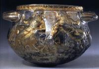 ваза с изображениями пирующих скифов