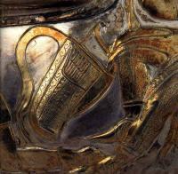 скифский горит (футляр для лука и стрел) с вазы из Гаймановой могилы (Запорожская обл.)
