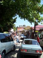 центральная улица Гурзуфа