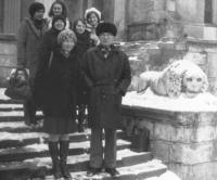 у дворца Воронцова в парке Салгирка