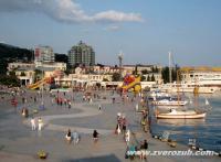 Набережная Ялты - роллерский рай круглый год!