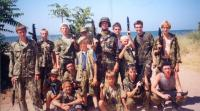 """отряд """"Рысь"""" в школе выживания """"Барс"""", Керчь, 2004"""