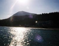гора Кастель к западу от Алушты