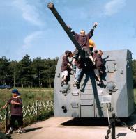 корабельное орудие на Сапун-горе