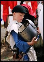 на реконструкции Грюнвальдской битвы, фото www.vodkomotornik.ru
