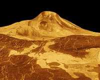рельеф планеты Венера