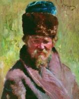 портрет ямщика, 19 век