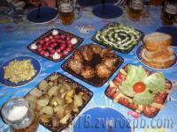 еда от Кости и Ани на базе Тау-Бадрак