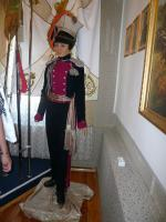 Надежда Дурова в форме уланов, восковая фигура в доме-музее в Елабуге