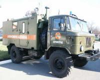 вот реальная машинка - ГАШИШ (ГАЗ-66) - сама себе топчет дорогу