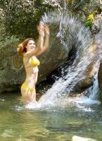 водопад Алешина вода у Красных пещер