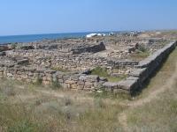 руины античного греко-скифского укрепления Беляус, фото: Карлсон, клуб Минивэн.Ру