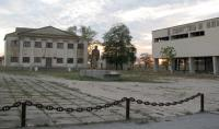 руины торгового центра в селе Знаменское у Донузлава