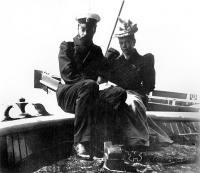 Великий князь Александр Михайлович Романов с супругой - Великой княжной Ксенией Александровной