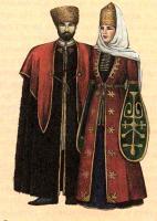 народный костюм Кабарды