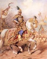 Ротмистр панцерный - пятигорец (черкес) в польской кавалерии