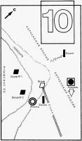 схема археологических находок античного порта Акра (Керченский пролив)