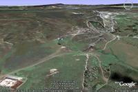 космический снимок: Белая скала - Вишенное, Белогорский район, Крым