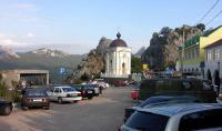 шоссе Севастополь-Ялта у скалы Гарина-Михайловского (перевал Ласпи)