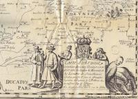 изображения казаков на карте Боплана