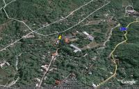 Космический снимок села Соколиное и охотничьего замка князей  Юсуповых