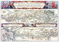 карта нижнего течения Днепра инженера Боплана