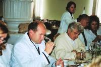 """главный винодел завода """"Малореченский"""" объединения """"Массандра"""" на дегустации"""