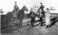 эскадронцы - офицеры крымскотатарского конного полка