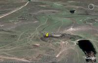 вид из космоса на трассу джип триала Прохват (балка Тубай к востоку от Симферополя)