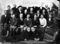 ученики 8 класса Баракской школы-интернат, 1940