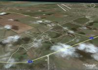 Чеботарка и окрестности на космических снимках Гугл Земля