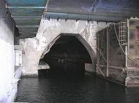 """вход в """"Балаклавскую штольню"""" - подземный завод по ремонту подводных лодок"""