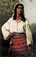 цыганский женский костюм