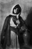 цыганский костюм с плащом - византийский стиль